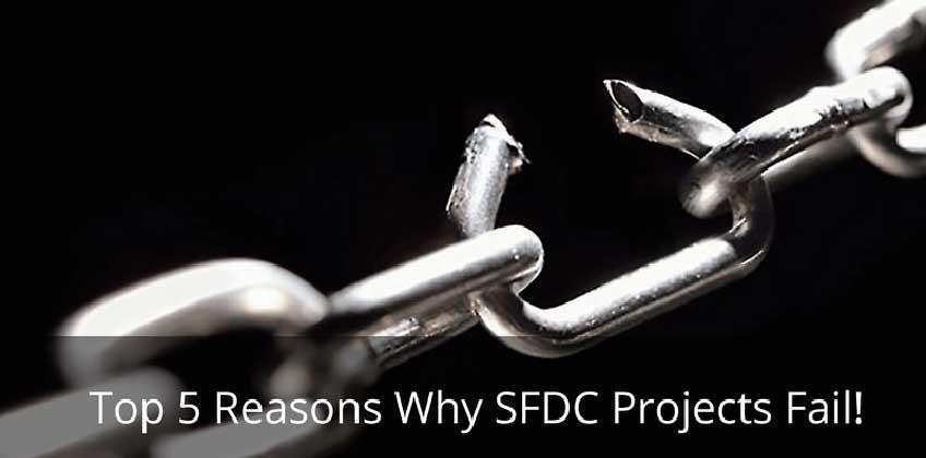 SFDC project fail