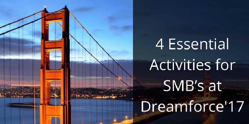 activities smbs dreamforce
