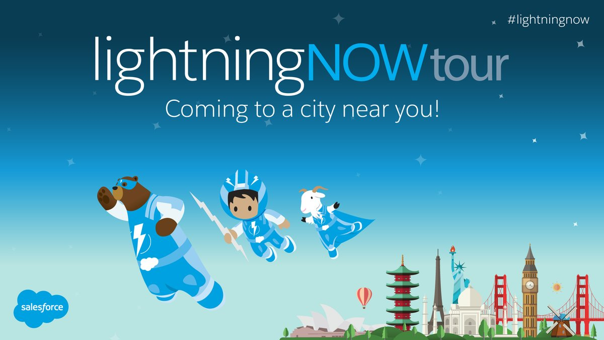 Lightning Now Tour for Developers - BANGALORE