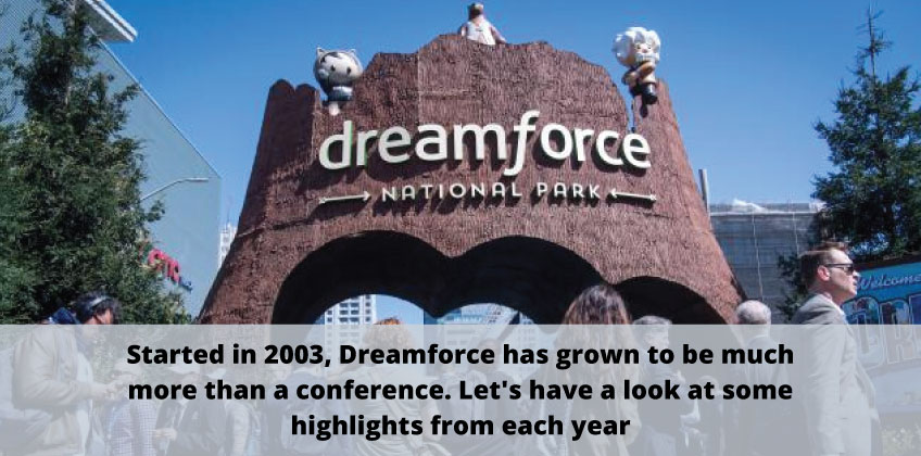 Dreamforce Infographic blog