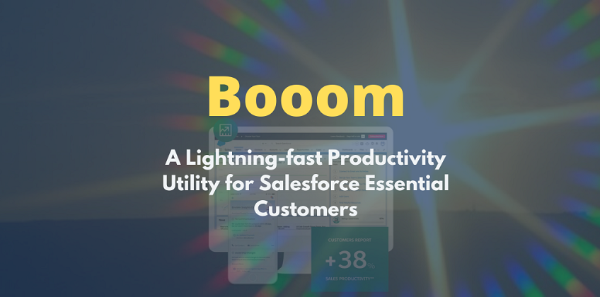 Booom - CEPTES's new solution for Salesforce Essential customers