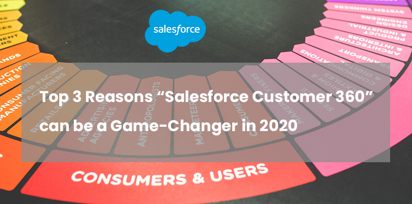 "Top 3 Reason ""Salesforce Customer 360"" can be a Game-Changer in 2020"