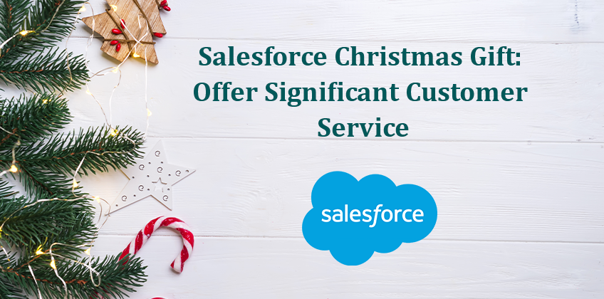 Salesforce Christmas Gift Offer Significant Customer Service