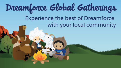 Dreamforce global gatherings